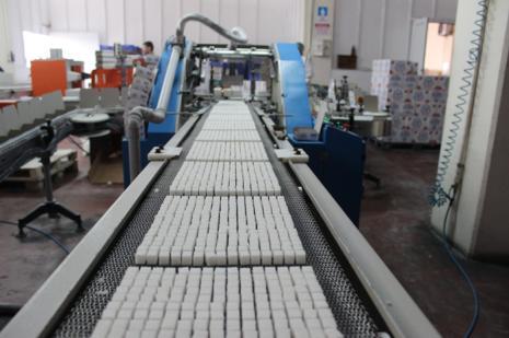 Ağızları tatlandırıp cepleri ısıtan fabrika
