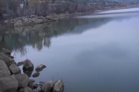 35 yıllık gölet boşaltılıyor