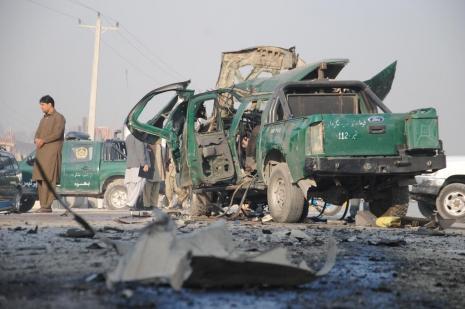 Bombalı saldırıda iki polis hayatını kaybetti