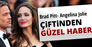 Brad Pitt ile Angelina Jolie çiftinden iyi haber!