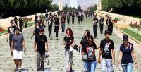 Anıtkabir'de 6 bin kişiyle rekor denemesi