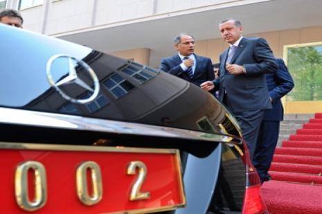 Başbakanlıkta Erdoğanı rahatsız eden görüntü