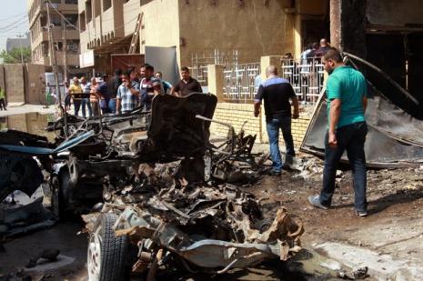 Bağdatta bombalı saldırılar: 8 ölü 26 yaralı