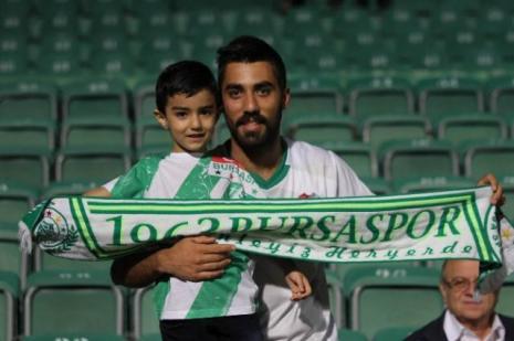 Bursaspor maçına beklenen ilgi gösterilmedi