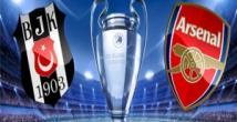 Arsenal-Beşiktaş maçından çok özel kareler