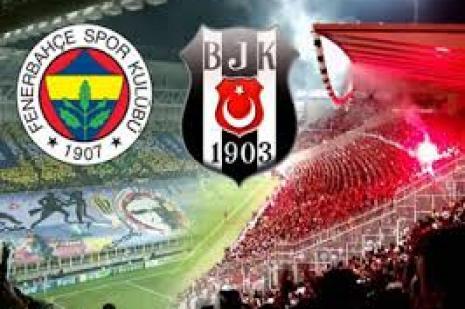 Beşiktaş ile Fenerbahçe dev maçta kozlarını paylaşacak
