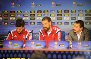 """Bilic: """"Avrupa'da iyi işler yapıyoruz ama önceliğimiz ligde şampiyon olmak"""""""