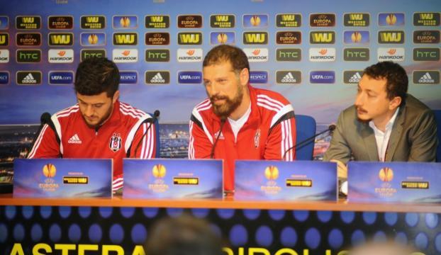 """Bilic: """"Avrupada iyi işler yapıyoruz ama önceliğimiz ligde şampiyon olmak"""""""