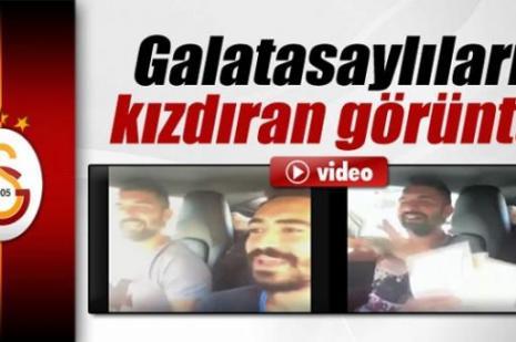 Engin Baytar ve Yiğit Gökoğlan'ın paylaştığı video, Galatasaraylıları kızdırdı