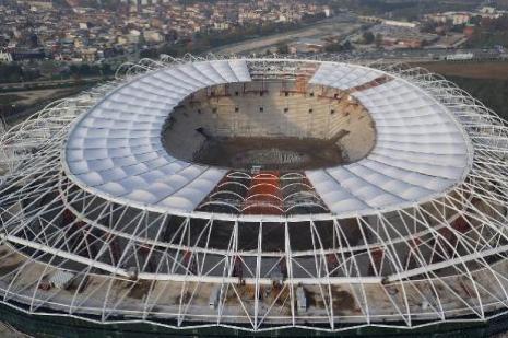 Bursa Timsah Arena, İngiliz medyasında