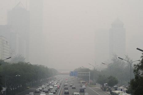 Çinde hava kirliliği kritik noktaya geldi