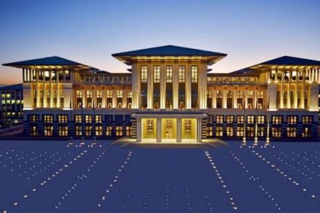 TOKİden Cumhurbaşkanlığı Sarayı açıklaması