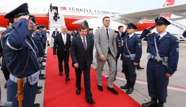 Başbakan Davutoğlu, Yunanistanda