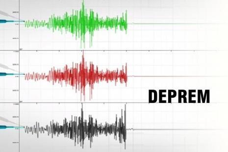 Çanakkalede deprem paniği