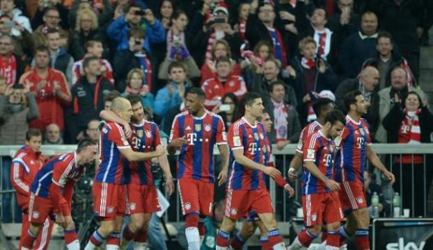 Derbinin galibi Bayern Münih oldu