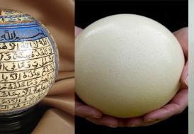 Devekuşu yumurtasını süs eşyası yaparsan