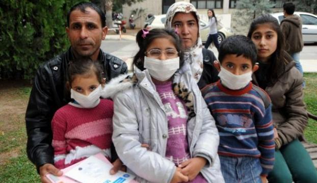 Dört çocuğu var dördü de hasta