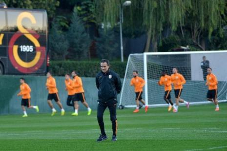 Galatasaray Dortmund maçına hazırlanıyor