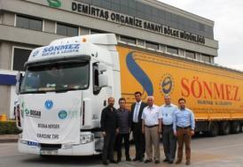 DOSABLI sanayicilerden Bosna'ya yardım