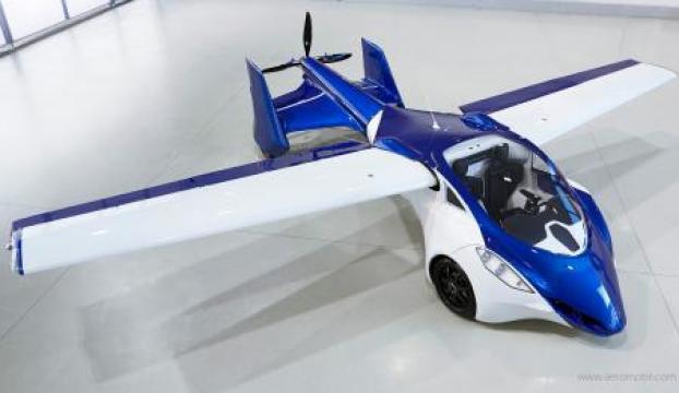 Uçak devri bitti Uçan otomobil geliyor