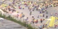 Halkalı'da işçi eylemi