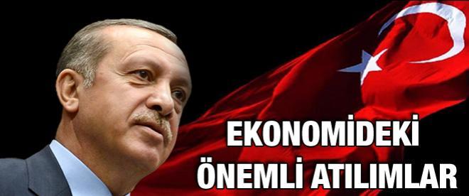 Başbakan Erdoğan döneminde ekonomideki önemli atılımlar