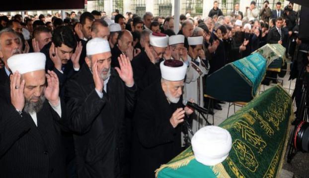Erdoğan, hocasını son yolculuğuna uğurladı