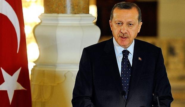 Cumhurbaşkanı Erdoğandan mesaj