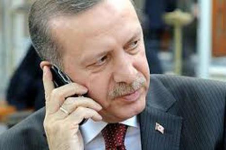 Cumhurbaşkanı Erdoğan, Putini aradı