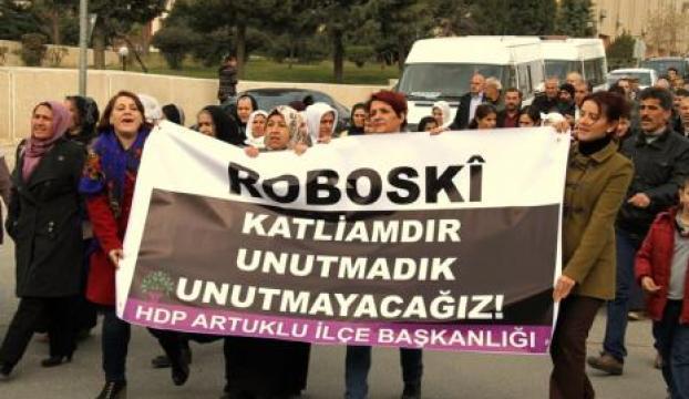 Eş Başkan Irmak, Roboski'de protesto eylemine katıldı