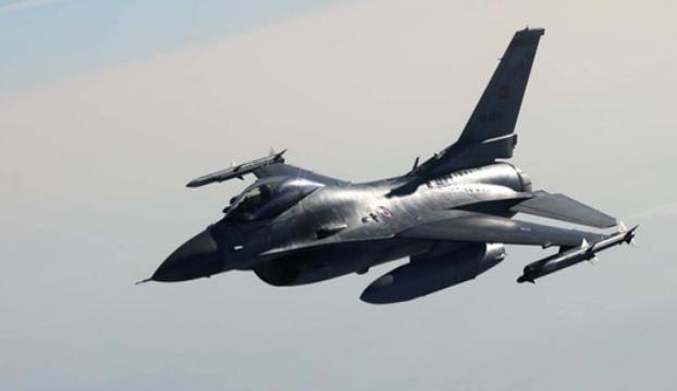 Merzifonda F-16 düştü