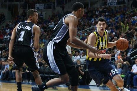 Fenerbahçe Ülker: 90 - San Antonio Spurs: 96