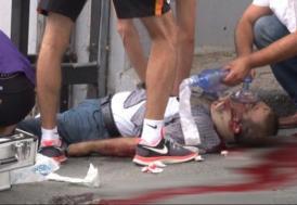 Galatasaray tesislerinde korkunç kaza