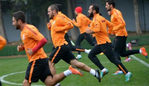 Galatasarayda maçı hazırlıkları