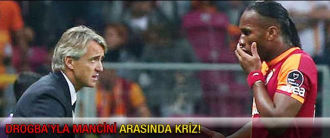 Galatasaray'da Drogba krizi