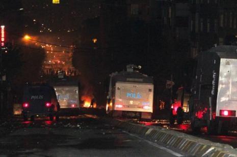 Gazi Mahallesinde Gezi Parkı olayları