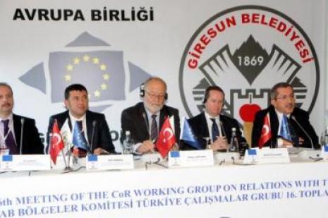 AB bölgeler komitesi toplantı yapıldı