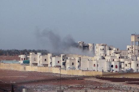 Halep çevresinde şiddetli çatışma
