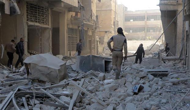 Halepte bir sivil katliam daha: Kadın ve çocuk 25 ölü
