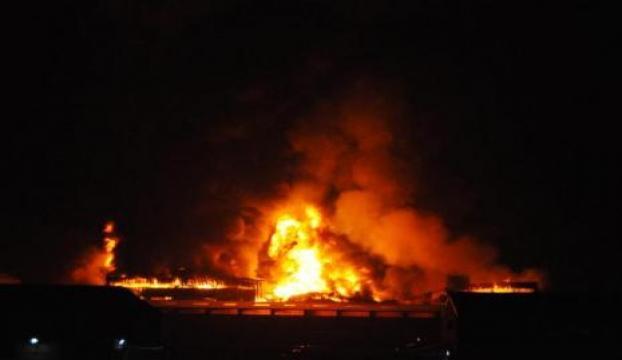 Bir çift yanarak öldü