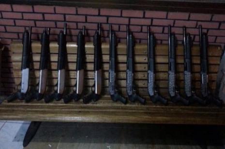 Haremde 11 av tüfeği ile yakalandı