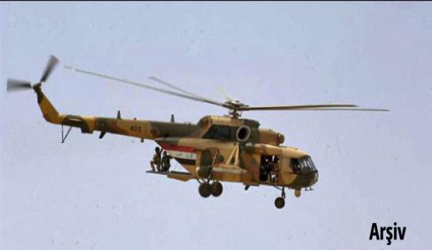 Çobanlar askeri helikopter ile kurtarıldı