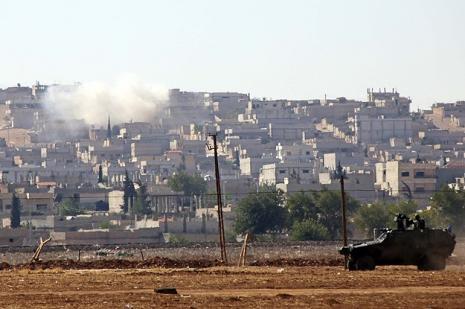 Kobanide şehir savaşı sürüyor