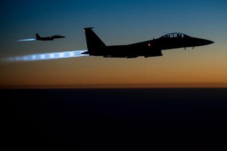 ABD ve koalisyon uçakları IŞİDi vurdu