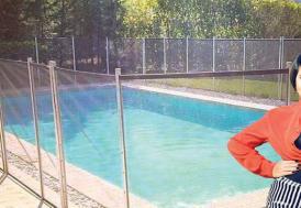 Işın Karaca havuz önlemi aldı