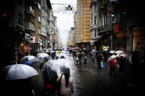 İstanbulda beklenen yağış