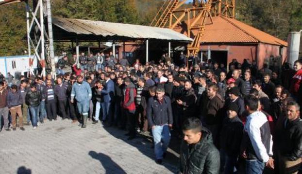 Madenci eylemi sona erdi