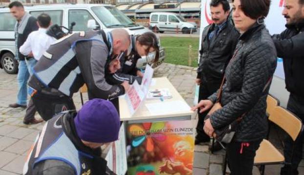 İzmirli motosikletçiler organ bağışı için bir araya geldi