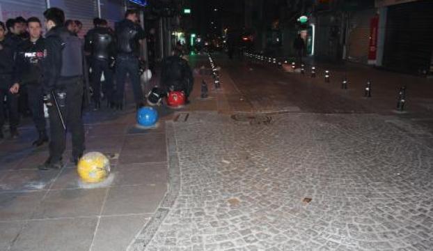 Kobani protestosuna polis müdahalesi