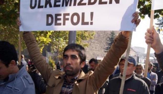 Kayseride İsrail protestosu